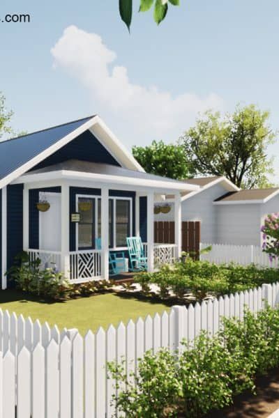 What is a Granny Flat? Check out these modern & traditional style small homes that are a great option for people that don't need a lot of space.