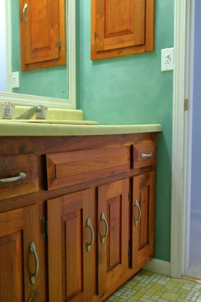 My 1970's Bathroom Remodel - Before | Sage Cottage Architects