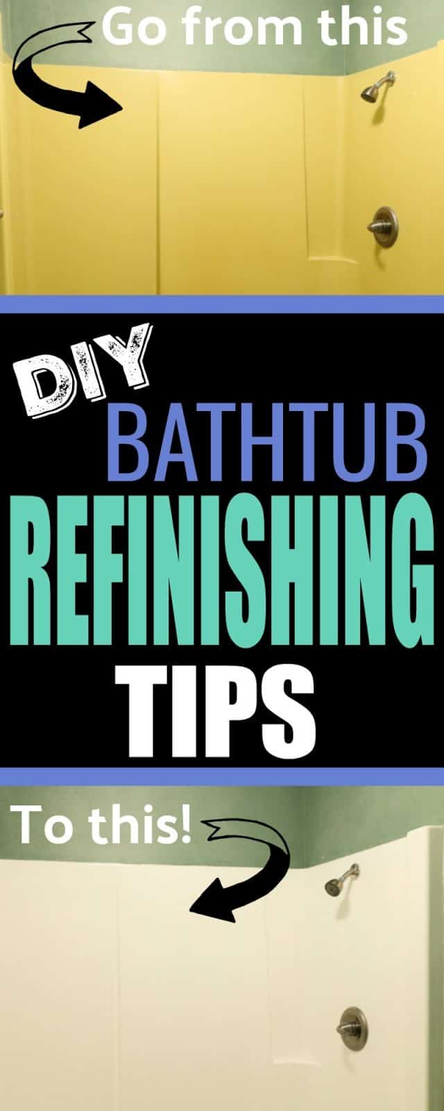 DIY Bathtub Refinishing - Tips to Update Your Tub with ...