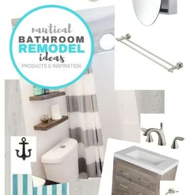 Nautical Bathroom Ideas – Planning a Bathroom Remodel on a Budget