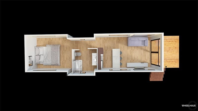 Wheelhaus Light Haus floor plan