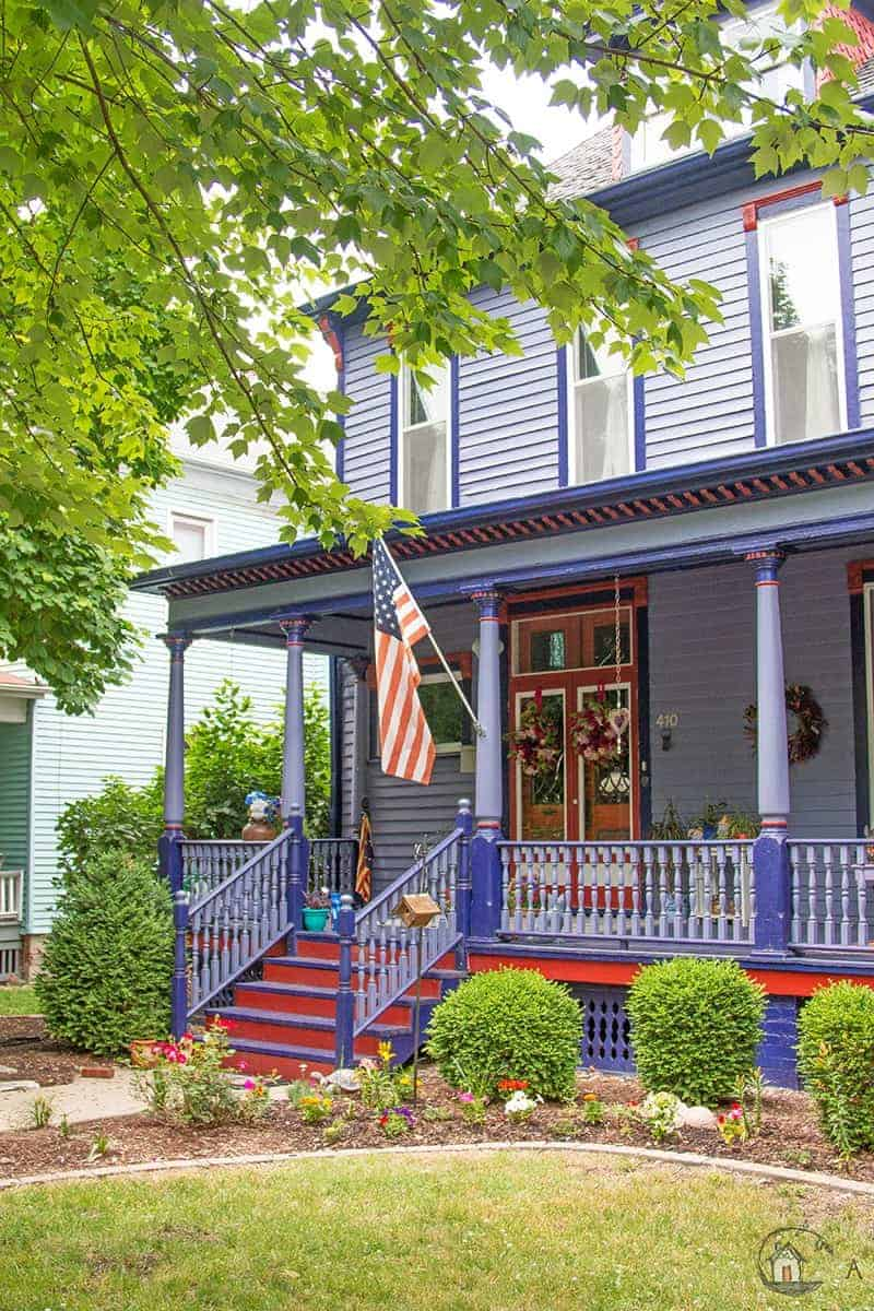 Old House Society Bloomington Illinois Annual Home Tour 2018 Franklin Park 29