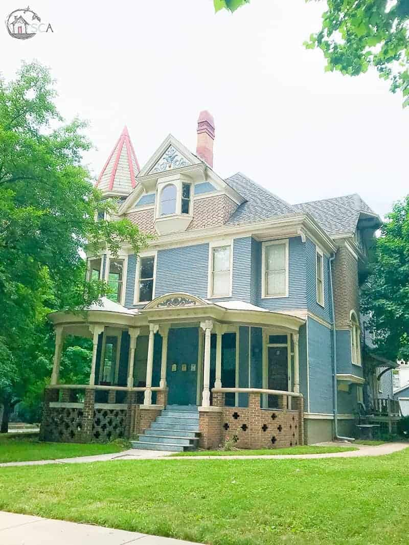Old House Society Bloomington Illinois Annual Home Tour 2018 Franklin Park 11