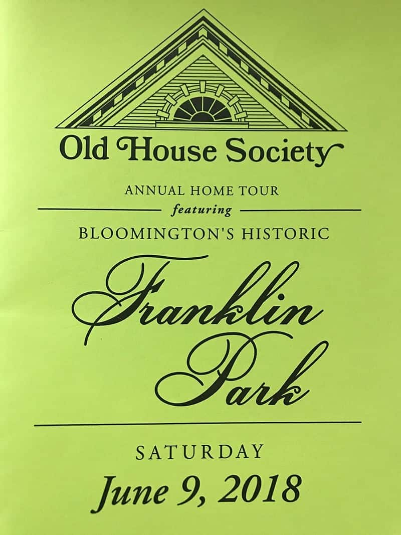 Old House Society Bloomington Illinois Annual Home Tour 2018 Franklin Park 1