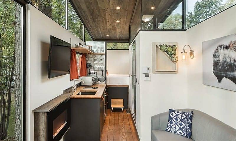 RoadHaus Wedge RV interior
