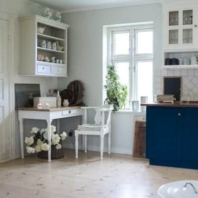 Design Inspiration: 20 Blue Kitchen Cabinets