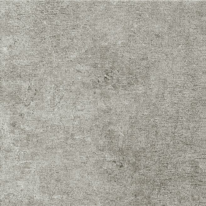 Photo of medium grey luxury vinyl tile sample