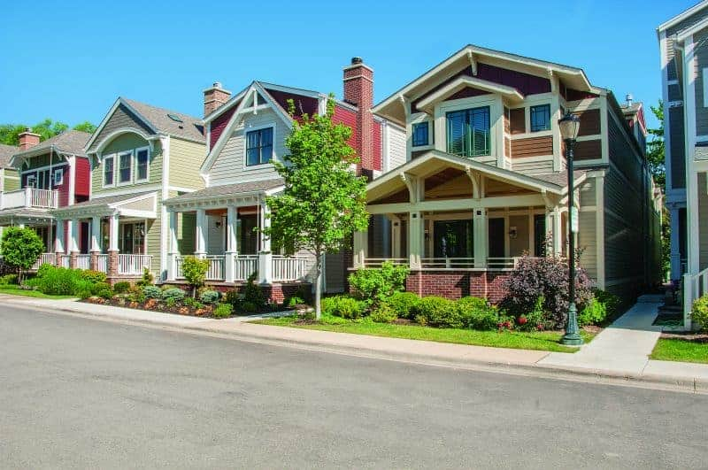 Photo of Craftsman inspired homes with lots of curb appeal.