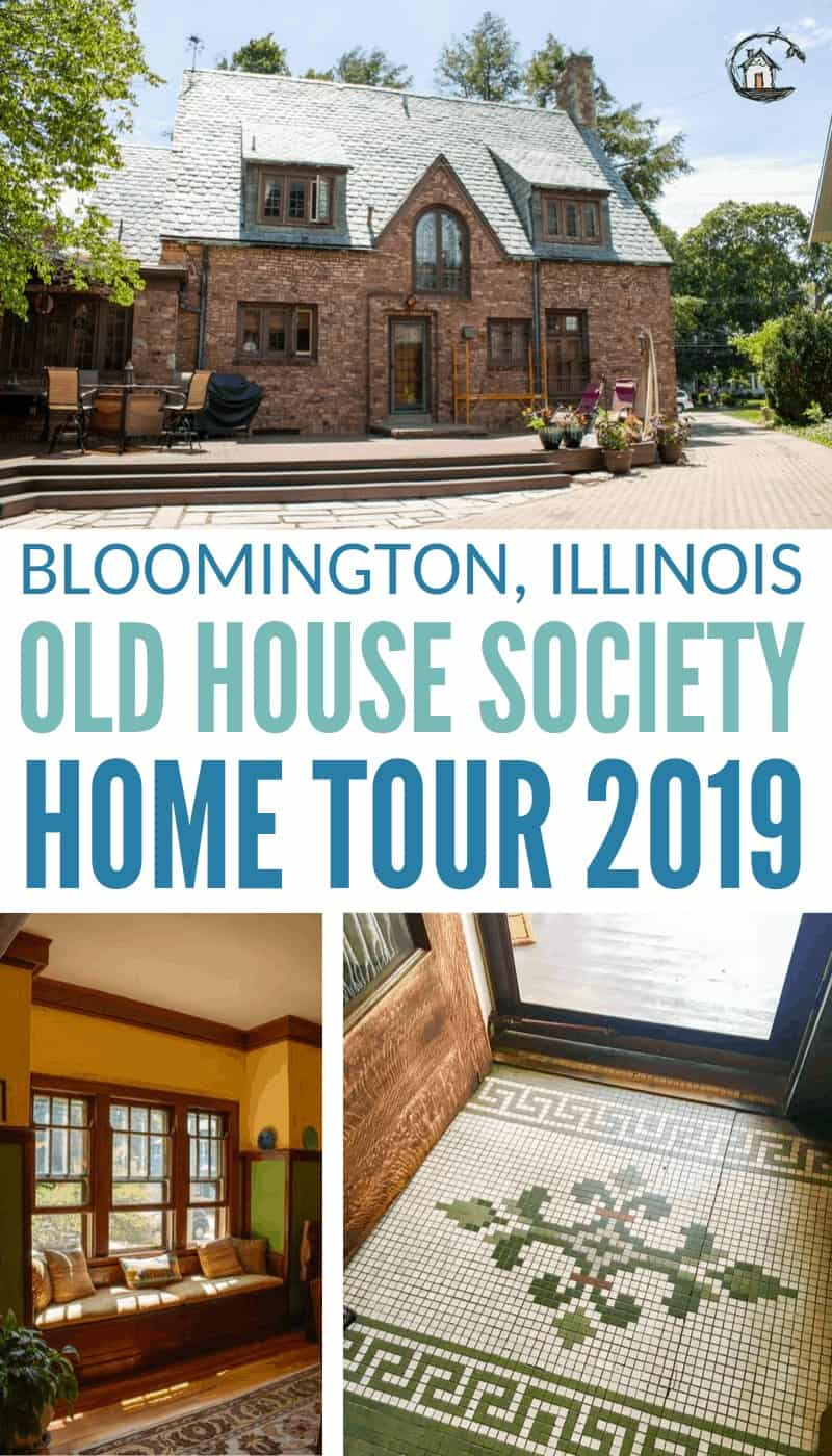 Photo collage of Old House Society Tour 2019
