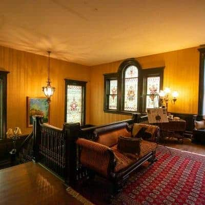 Inside the Beautiful Vrooman Mansion