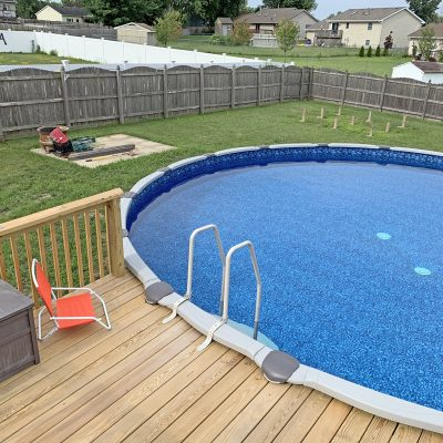 How to Choose an Above Ground Pool for Your Backyard
